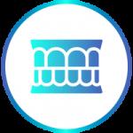 Icona identificativa della terapia articolare con ortodonzia-allineatori