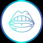 Icona identificativa della terapia articolare con ortodonzia-fissa-linguale